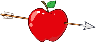 Apple with Arrow