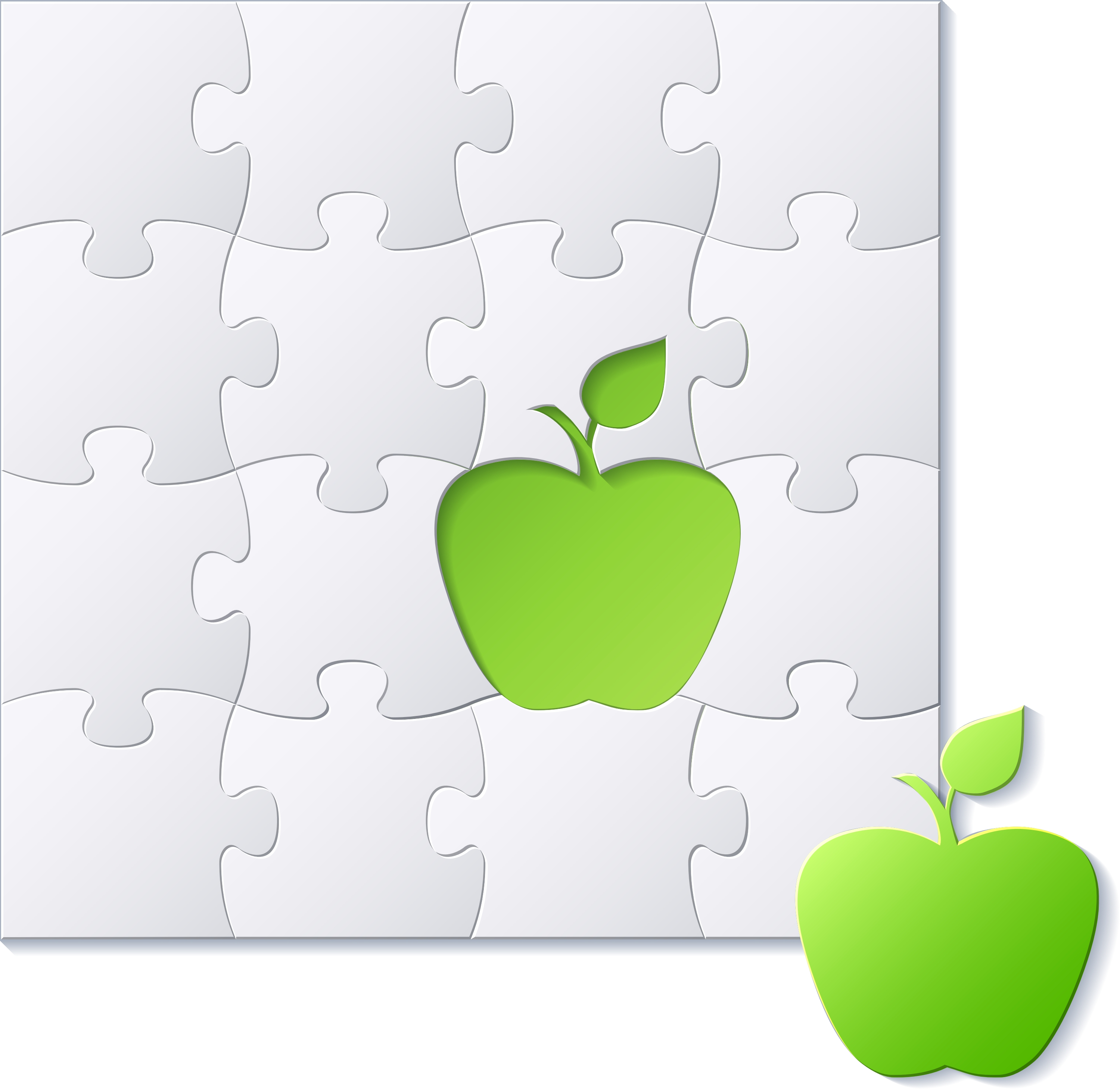 Apple and Puzzle of Apple